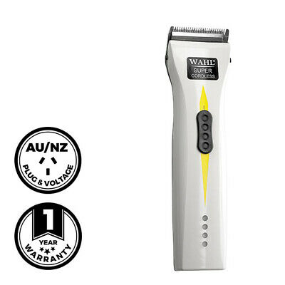Wahl Professional Super Cordless Clipper Hair Beard Trimmer Barber Electric