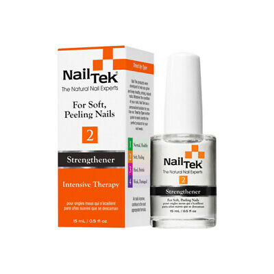 Nail Tek Intensive Therapy 2 15ml Soft Peeling Nails Treatment Strengthener