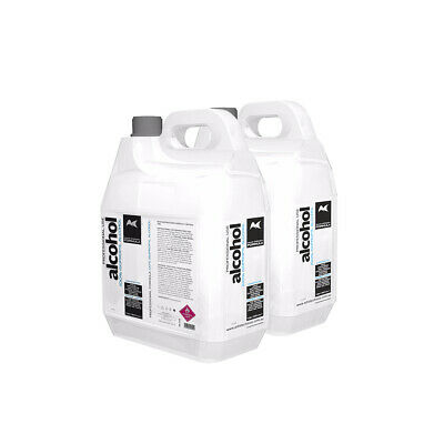 Artists Choice 100% Pure Isopropyl Alcohol 10 Litre 10L Isopropanol - (2x5L)