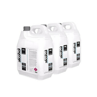 Artists Choice 100% Pure Isopropyl Alcohol 15 Litre 15L Isopropanol - (3x5L)