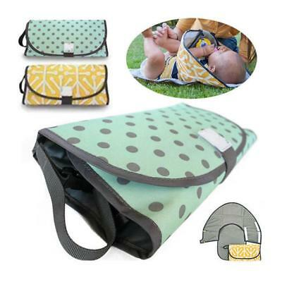 Diaper Clutch Pad Waterproof Portable Clean Hands Baby Diaper Changing