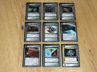 Star Trek CCG Official Tournament Sealed Deck Full Set 20 Cards - BB NM-MT to MT