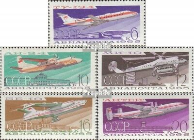 Soviet-Union 3168-3172 (complete issue) used 1965 Aircraft