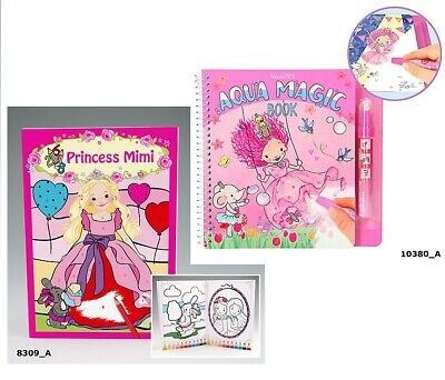 DEPESCHE MALBUCH STICKERBUCH TOPModel Fantasy Model Princess Mimi ...