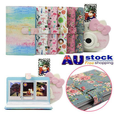 AU 96 Pockets Photo Album Storage for Fujifilm Instax Mini 8/9/7s/7C/25/70/90