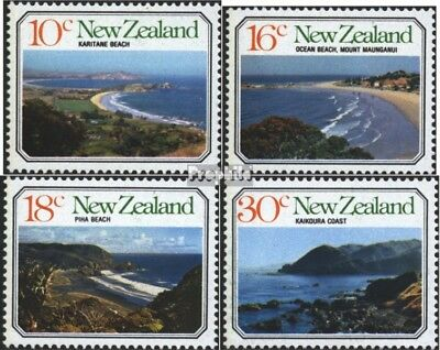 New Zealand 716-719 (complete issue) unmounted mint / never hinged 1977 Coasts