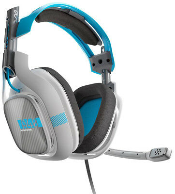 ASTRO A40 + MixAmp M80 Wired Gaming Headset Grey Blue for Xbox One/PC/PS4/Switch
