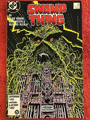 Swamp Thing 52 DC Lot of 1 1986 Moore Veitch Alcala
