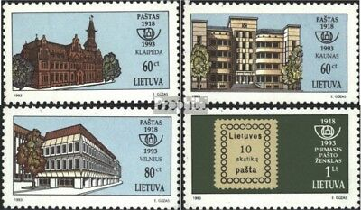 Lithuania 540-543 (complete issue) unmounted mint / never hinged 1993 Stamps