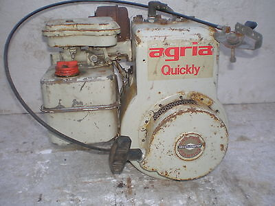 Agria 400 5300 Quickly Briggs & Stratton 5HP 5PS Motor B&S Motorhacke