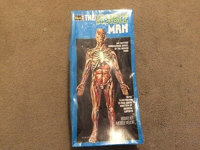 VINTAGE 1977 REVELL The Visible Man Anatomy Model Kit-Sealed ...