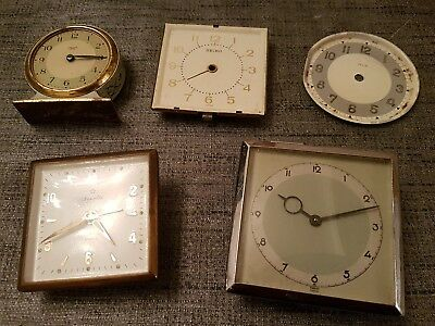 vintage alarm clock spare parts incl smiths