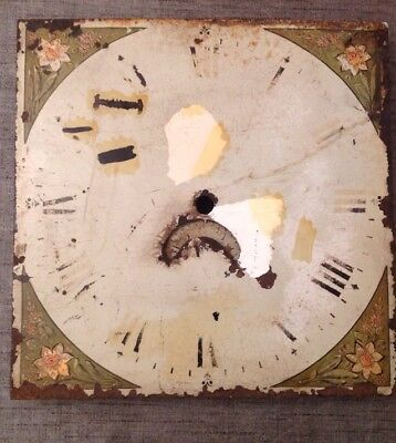 "Grandfather Clock Dial With Date Wheel 12""X12"""