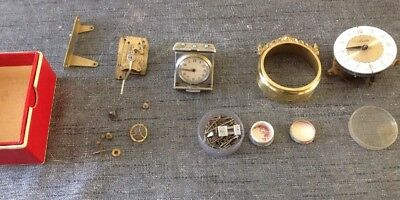 Antique Clock Parts Pins Jewels Platform Escape From Clockmakers Collection