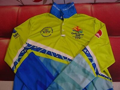 Gold Coast Commonwealth Games Volunteer Long Sleeve Shirt Women's Size XS