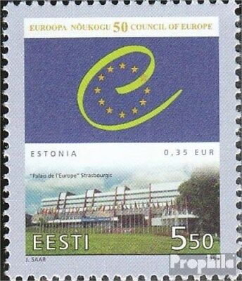 Estonia 341 (complete issue) unmounted mint / never hinged 1999 Europe