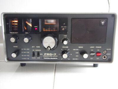 YAESU MUSEN FRG-7 Short Wave 0.5 -29.9 Mhz Communications Receiver