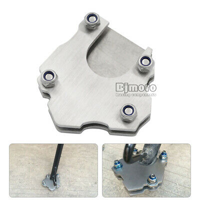 Universal Stainless Steel Side Kickstand Stand Enlarger Foot Extension Plate Pad
