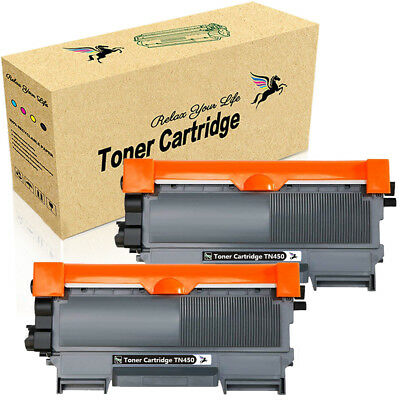 2 PK TN450 Compatible Toner Cartridge for Brother HL-2220 2240 2270dw MFC-7360n