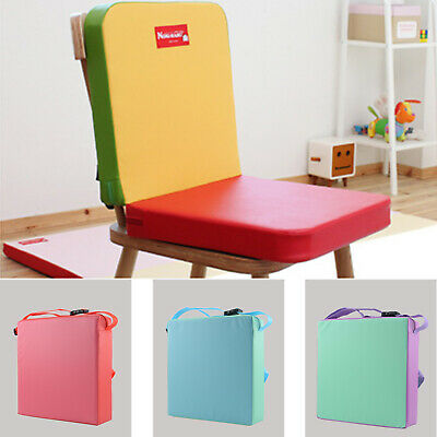 Children Highchair Pad Baby Seat Cushion Removable Kids Colourful Dining Chair