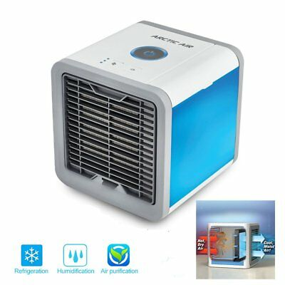 USB Personal Space Cooler 3in1 Mini Portable Conditioner Humidifier Air Purifier