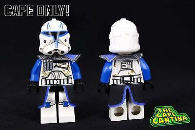 LEGO Star Wars Minifigure Phase 2 Captain Rex Custom Cloth Cape Clone Wars Set