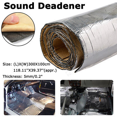 32 sqft Sound Deadener Car Heat Shield Insulation Deadening Block Heat & Sound