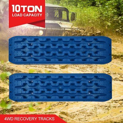 NEW Pair Recovery Tracks /Sand Track/Mud Blue Trax/Off Road 4WD AUS