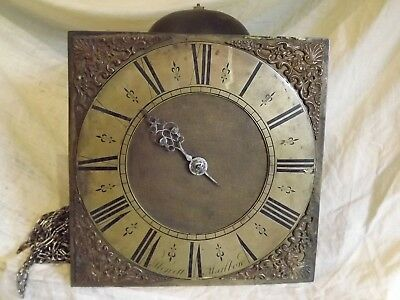 """10"" Dial Single Hand Birdcage Movement In Original Untouched Condition 18C"