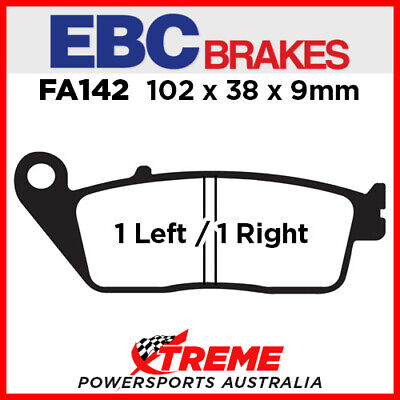 Kymco Downtown/Super Dink 300i 09-12 EBC HH Sintered Front Brake Pads, FA142HH