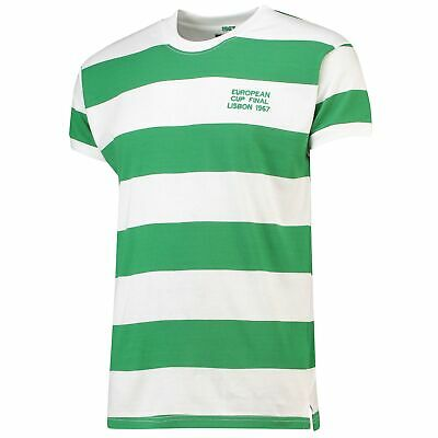 Celtic 1967 European Final Retro Football Jersey Shirt Tee Top Mens