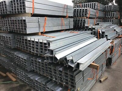 retainning wall steel post H and C Section