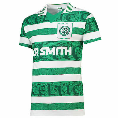 Celtic 1996 Football Home Retro Jersey Shirt Tee Top Mens