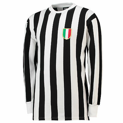 Juventus 1952 Football Home Retro Jersey Shirt Tee Top Mens