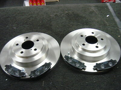 FRONT AND REAR BRAKE DISCS AND PADS FOR SUBARU LEGACY TOURER 3.0 11//2003-6//2010