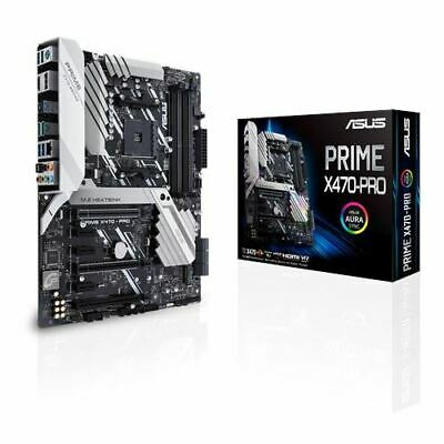 Asus Prime X470-Pro AMD X470 So.AM4 Dual Channel DDR4 ATX Retail