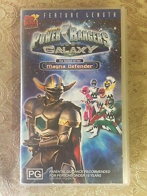 Power Rangers Lost Galaxy: The Return Of The Magna Defender - VHS Movie