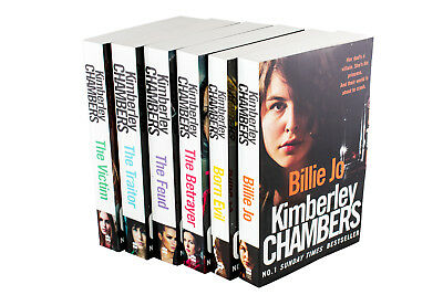 Kimberley Chambers Collection 6 Books Set Billie Jo, Born Evil, The Betrayer, Th