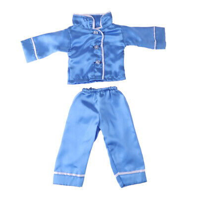 Handmade Doll Clothes Two-piece Pajamas for 18 inch American Girl Dolls