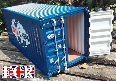 NEW G SCALE SHIPPING CONTAINER 45mm GAUGE 20' CARGO HAUL FREIGHT CONTAINERS