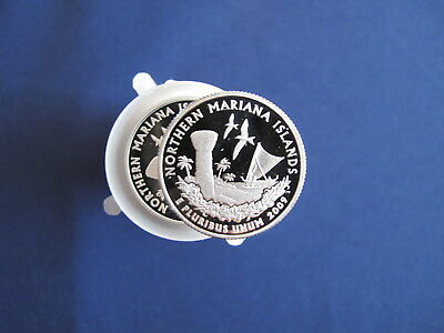 2009-S Northern Mariana Islands DCAM Proof Quarter Roll of 40 Coins