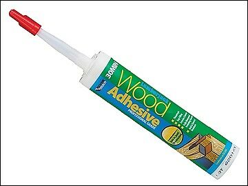 Everbuild Lumberjack 30min Wood Adhesive Gel 310ml EVB30MINPU3