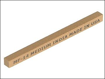 India FF34 Square File 100 x 10mm - Fine INDFF34