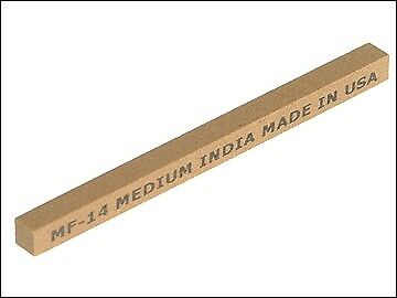 India FF14 Square File 100 x 6mm - Fine INDFF14