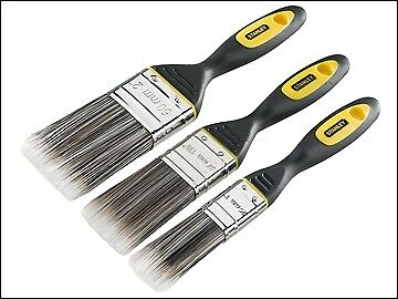Stanley Tools DynaGrip Synthetic Brush Pack Set of 3 25, 38 & 50mm STASTPPDS3Z