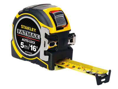 Stanley Tools FatMax Autolock Pocket Tape 5m/16ft (Width 32mm) STA033503