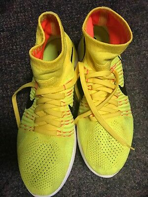 the best attitude 2c64e 3f775 NIKE LUNAREPIC FLYKNIT High Men Size 11 Running Shoes Yellow