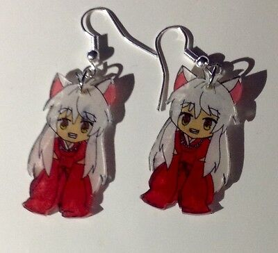 Anime Inuyasha chibi, dangle earrings