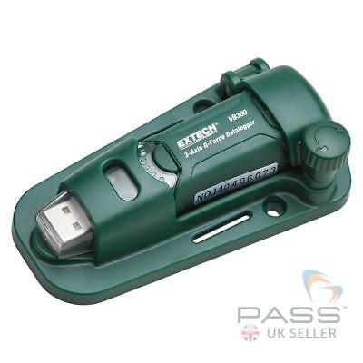 *NEW* Extech VB300 3 Axis G Force USB Datalogger with Software / UK Stock