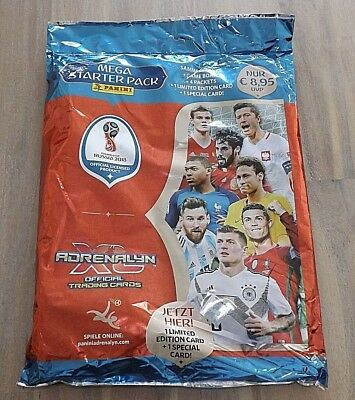 Panini Adrenalyn XL World Cup Russia 2018  Mega Starter Pack